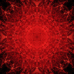 Red Flames and sparks background