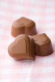 Heart shape chocolate