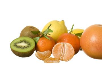 Still-life of fresh fruit