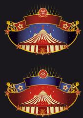 Night circus banners