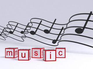 Music 3D Rendering