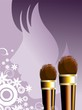 Illustration of Cosmetic products