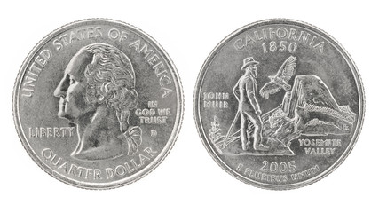 Quarter Dollar California