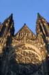 west facade of cathedral of st. vitus - prague