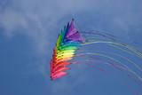 Rainbow stunt kites poster