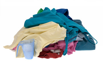 clothes for the laundry
