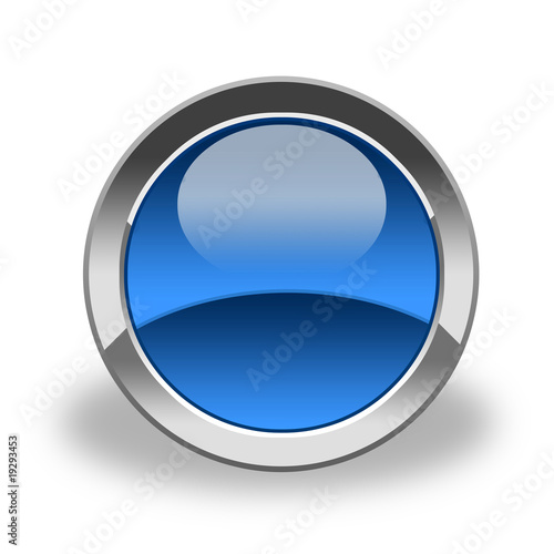 emty icon & button; blue and glass
