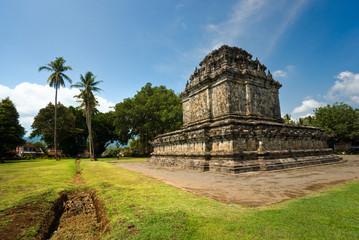 Candi Mendut, near Borobudur Temple, Yogyakarta, Java, Indonesia