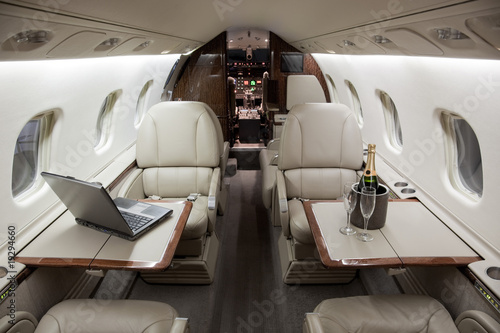 Business Jet Interior - 19294660