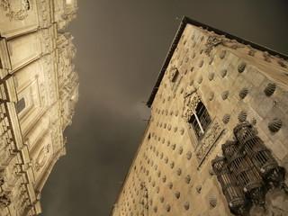 Casa de las Conchas y Clerecia en Salamanca