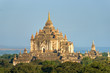 Bagan, Thatbyinnyu temple after sunrise, Myanmar..