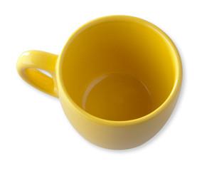 tazzina caffè gialla