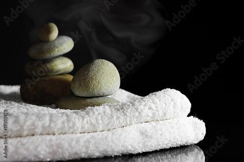 Fototapeten,massage,kieselstein,kurort,entspannung