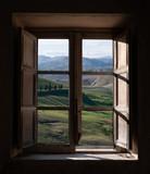 landscape trough the window - 19307085