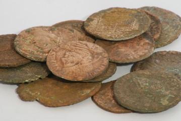monnaie antique byzance cuivre