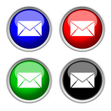 e-mail glass colored icons
