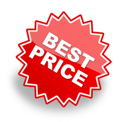 best price label for promotion