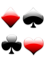 playing card signs