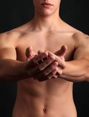 Männlicher Akt - Hände