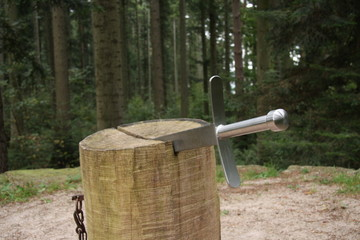Chopping Block for witches