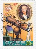 Sir Isaac Newton - great English physicist