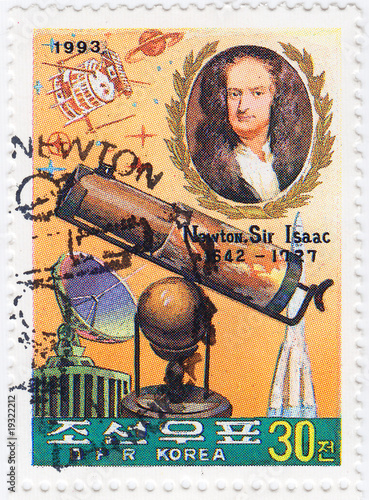 Sir Isaac Newton - great English physicist