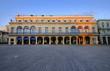 Beautiful havana building, cuba