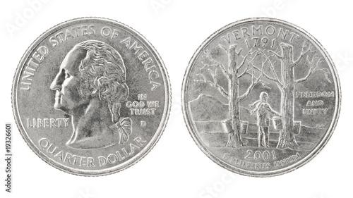 Quarter Dollar Vermont
