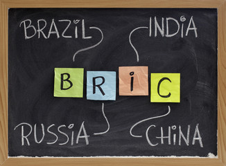 Brazil, Russia, India and China - BRIC