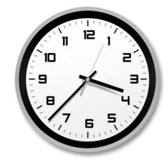 stylish and modern clock
