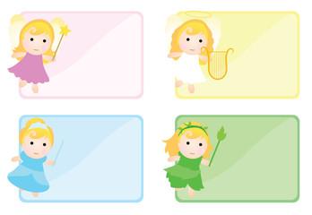fairy tales girl banner