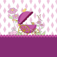 baby card background