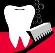 Illustration of tooth brush