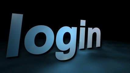 login graphic