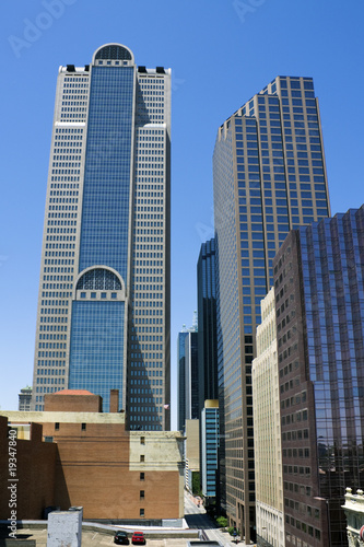 Skyscrapers in Dallas