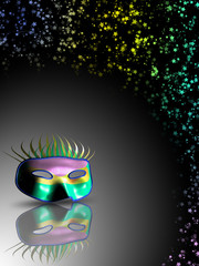 Maschera 3d-3d Mask-Masque 3d-2