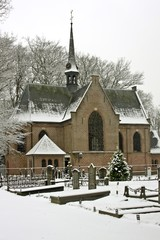 Medieval church in the Netherlands