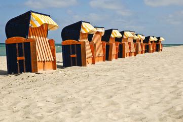 Strandkorbvermietung, Ostsee