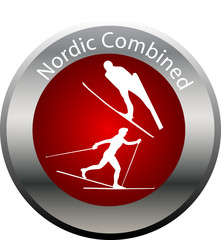 winter game button nordic combined