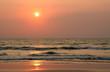 Indischer Ozean im Abendlicht
