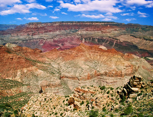 The look on Grand Canyon. USA