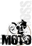 motocross circle poster background