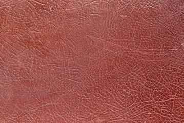 Textura de cuero burdeos.