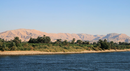 West bank of River Nile towards Esna 4