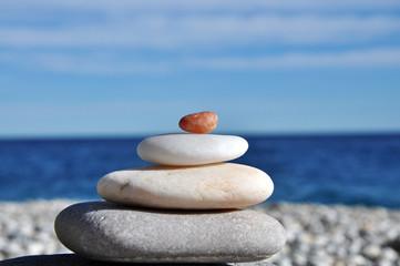 piedras y horizonte