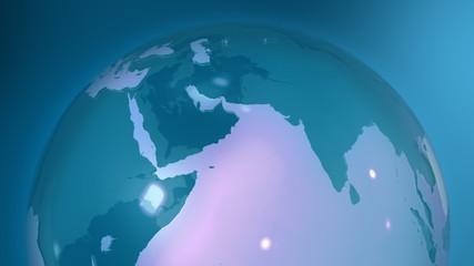 Globe Slow rotation in loop