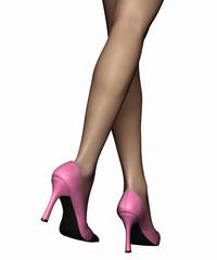 Legs-pinkpumps 5