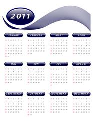 2011 Kalendar
