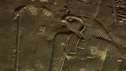 Horus tempel von innen, Ägypten