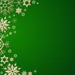 weihnachtlicher grüner Hintergrund